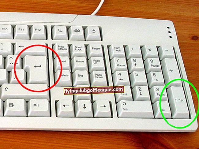 Comment faire le symbole de retour chariot sur un Mac