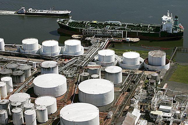 Elencare i vantaggi dell'approvvigionamento di materiale in una compagnia petrolifera e del gas